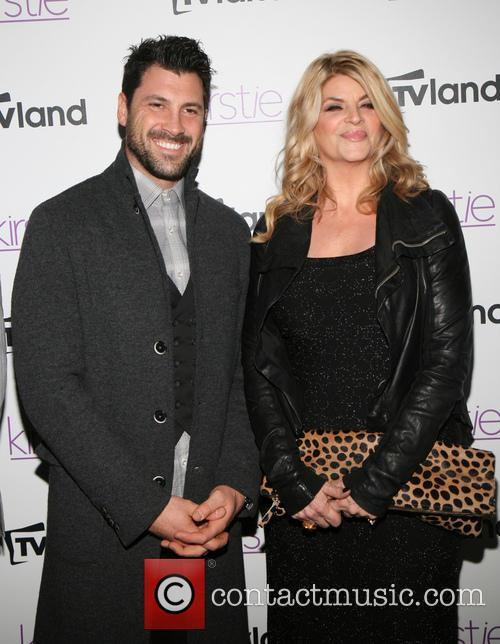 Maksim Chmerkovskiy and Kirstie Alley 2