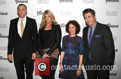 Michael Richards, Kirstie Alley, Rhea Perlman and Eric Petersen 2