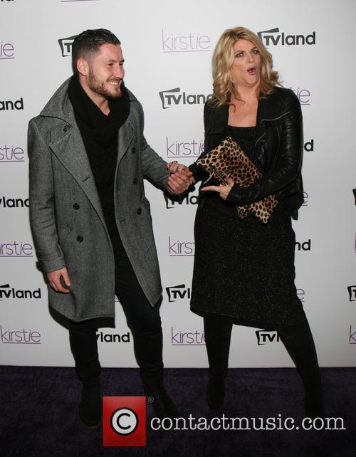 Val Chmerkovskiy and Kirstie Alley 2
