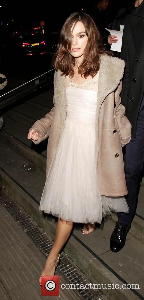 Keira Knightley, Roundhouse Chalk Farm London.