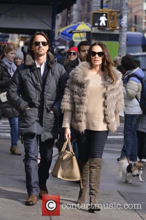 Tamara Ecclestone and husband Jay Rutlandin Soho