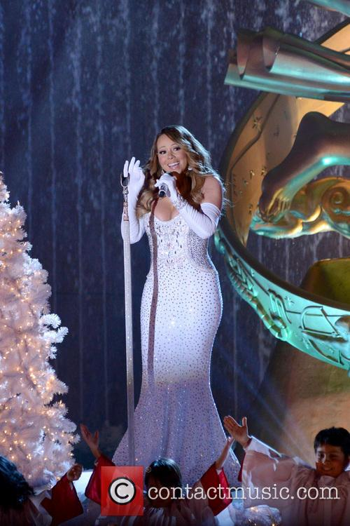 mariah carey rockefeller center christmas tree lighting 3980826