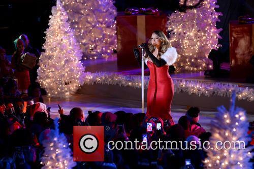 mariah carey rockefeller center christmas tree lighting 3980849