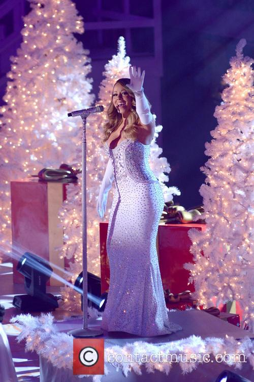 mariah carey rockefeller center christmas tree lighting 3980857