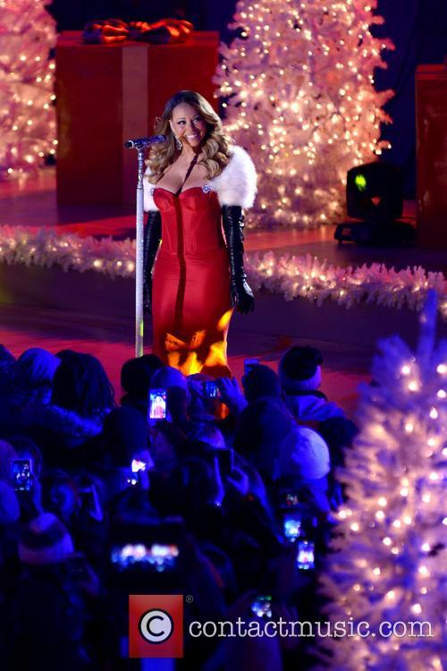 Mariah Carey, Rockefeller Center