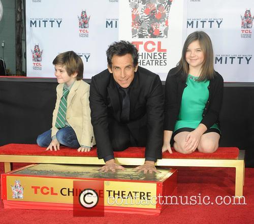 Ben Stiller and Quinlin Dempsey Ella Olivia 3