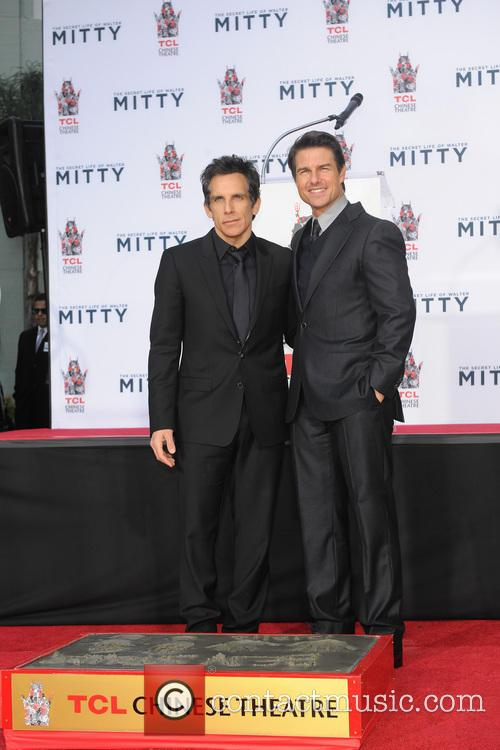 Ben Stiller and Tom Cruise 9