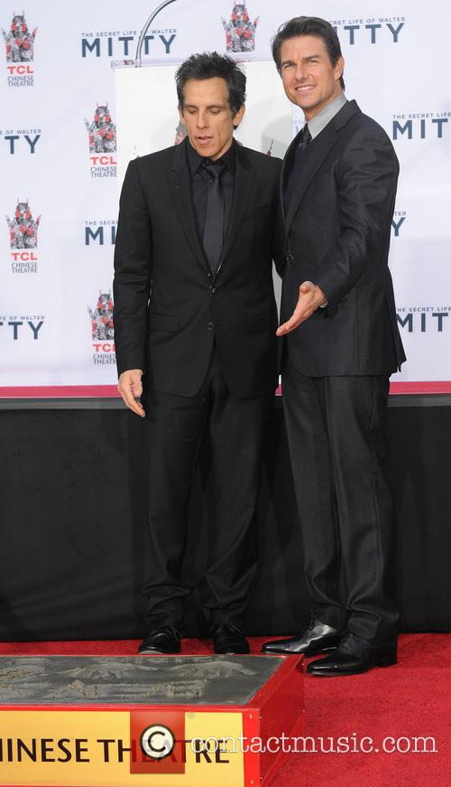 Ben Stiller and Tom Cruise 11