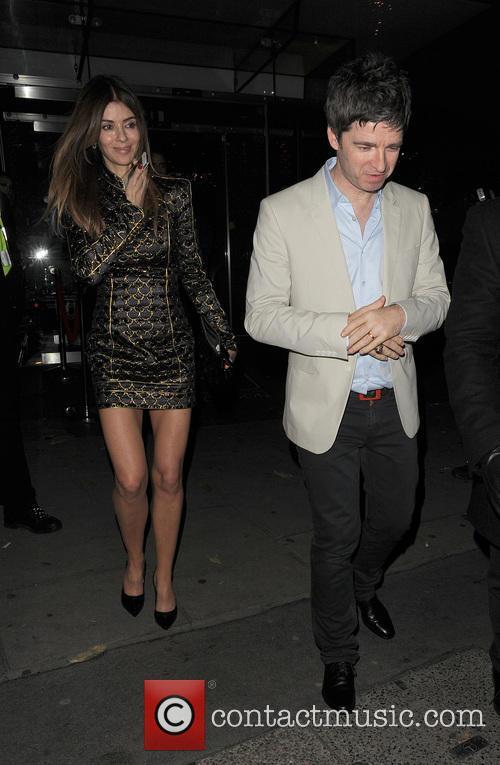Noel Gallagher and Sara Macdonald 2