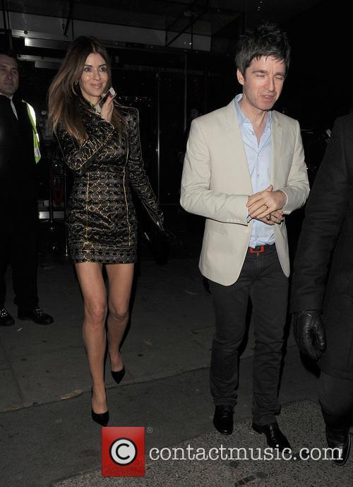Noel Gallagher and Sara Macdonald 4