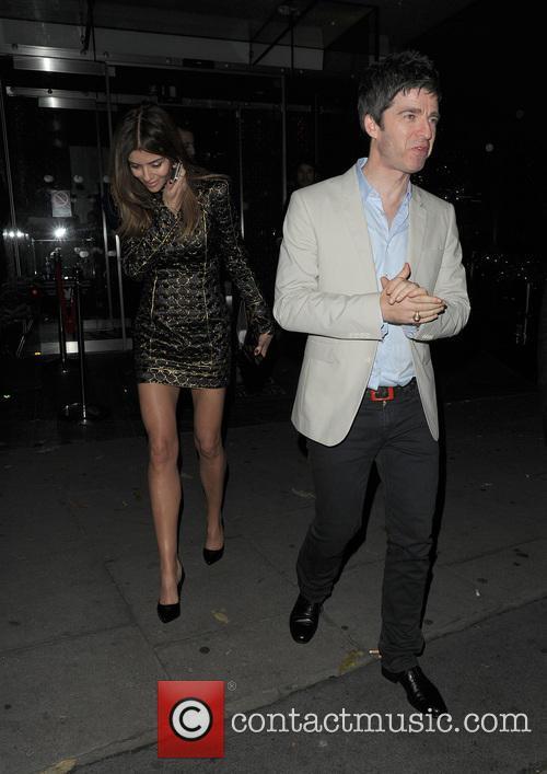 Noel Gallagher and Sara Macdonald 5