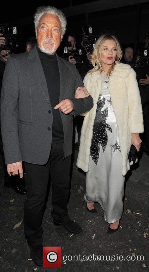 Sir Tom Jones and Kate Moss 5