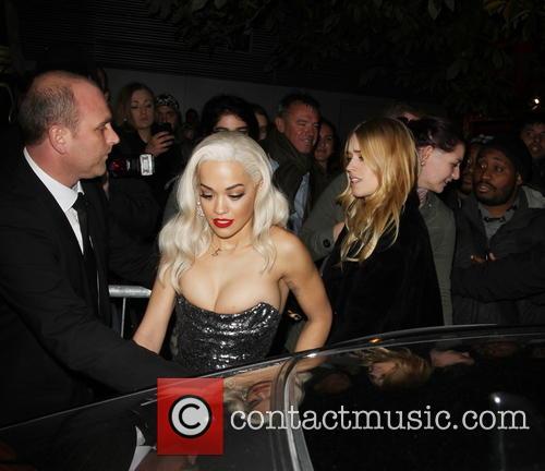 Rita Ora, Claridges, Park Lane, London