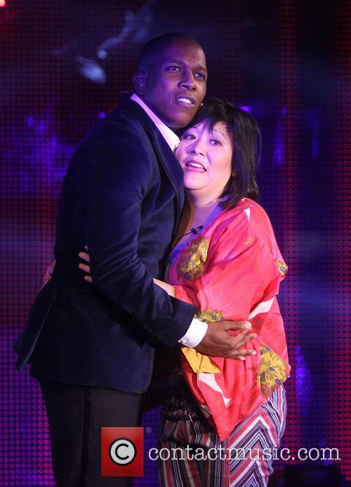 Leslie Odom Jr. and Ann Harada 1
