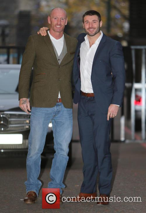 Ben Cohen and Gareth Thomas