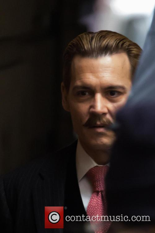 Johnny Depp Mortdecai Moustache