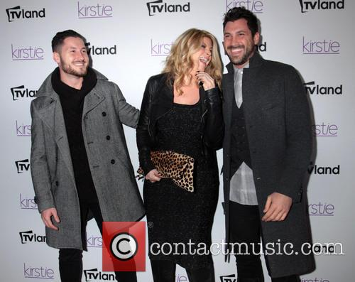 Kirstie Alley, Maksim and Val Chmerkovskiy 2