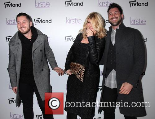 Kirstie Alley, Maksim and Val Chmerkovskiy 9