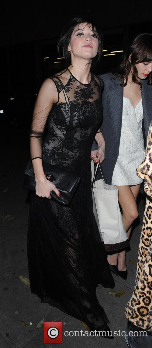 Celebs Arrive at Kate Moss Mag Party