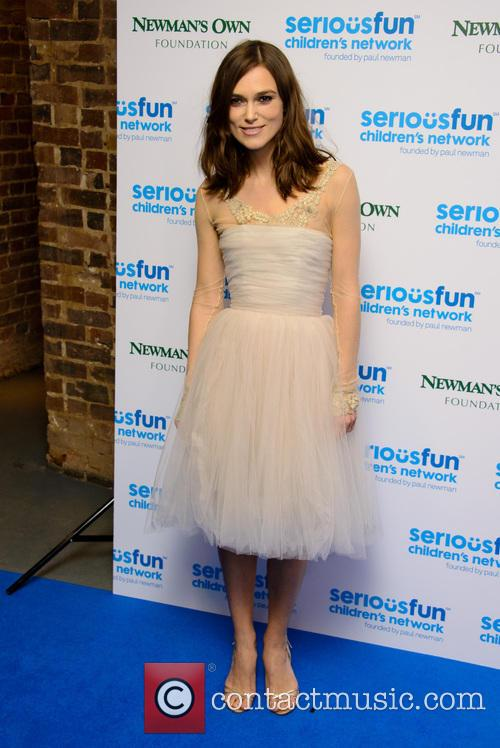 Keira Knightley, Serious Fun Children's Network London Gala