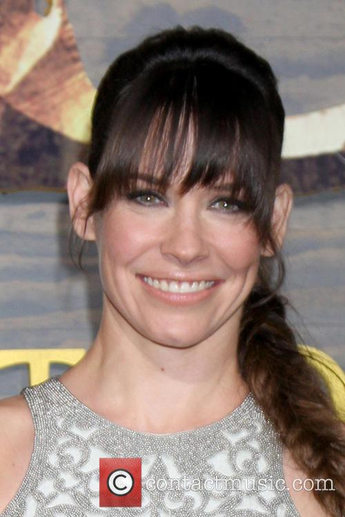 Evangeline Lilly, The Hobbit Premiere