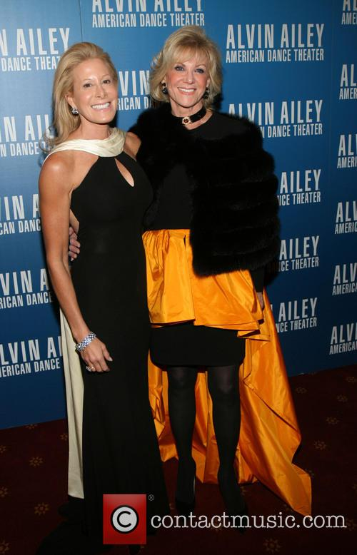 Alvin Ailey, Jillian Manus and Elaine Wynn 5