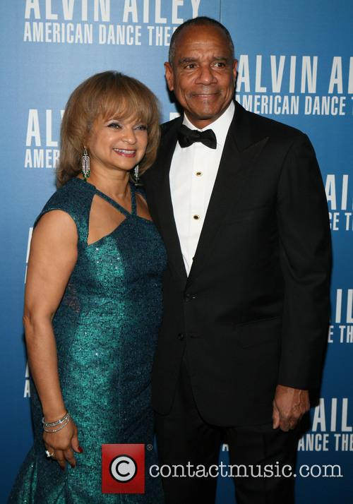 Alvin Ailey, Kathryn Chenault and Kenneth Chenault 9