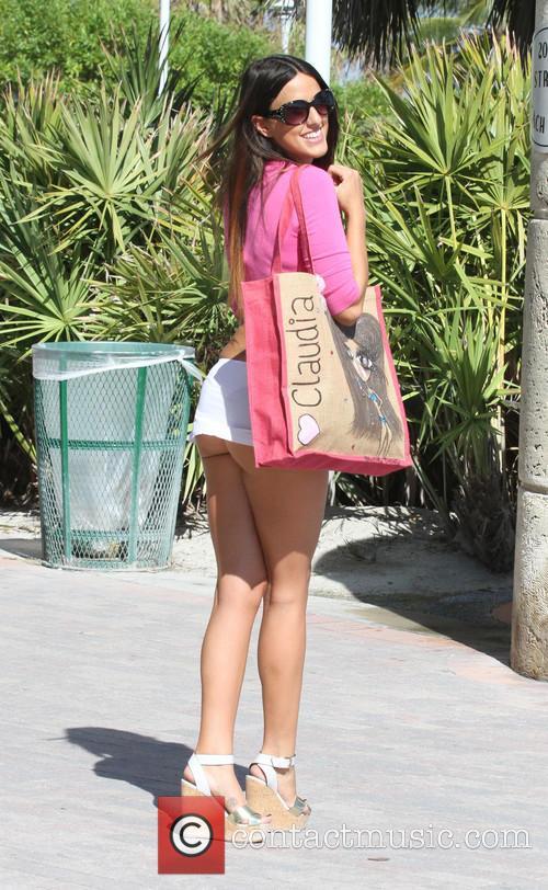 Italian model Claudia Romani In Miami