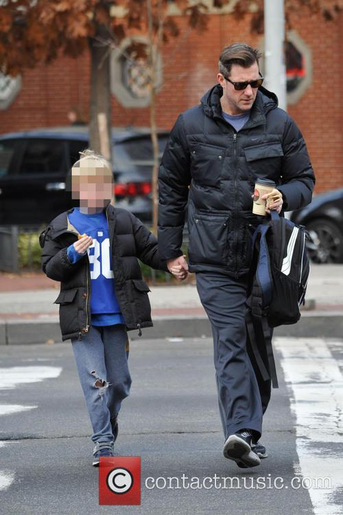 Ed Burns On The School Run