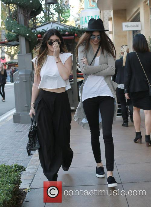 Kylie Jenner And Kendall Jenner At The Grove