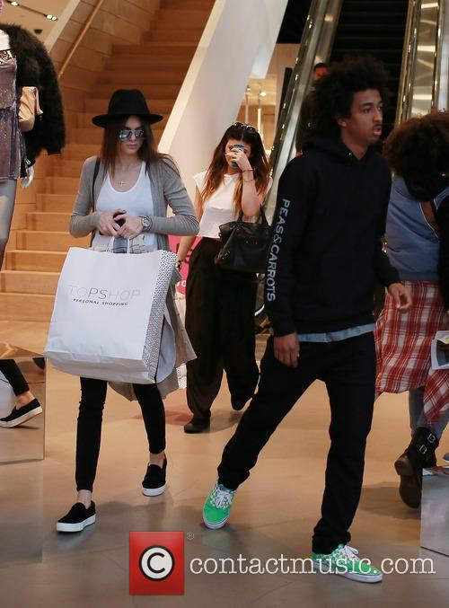 Kylie and Kendall Jenner Shop For Bargains