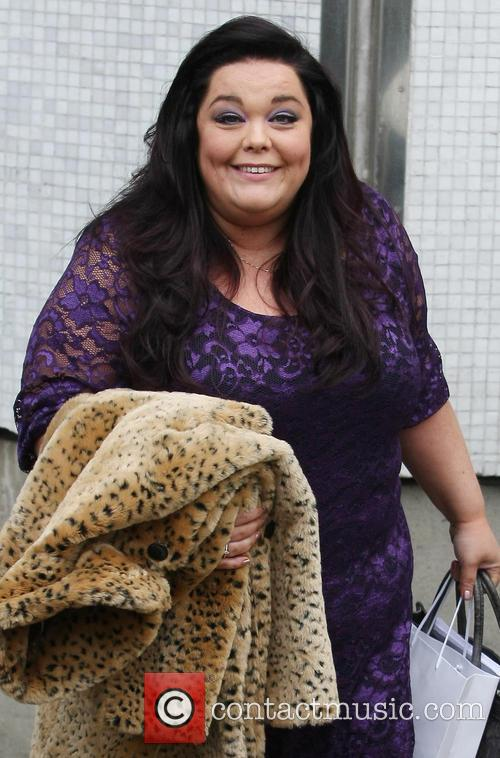 Lisa Riley Leaving the ITV Studios