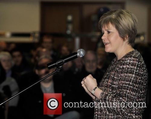 Nicola Sturgeon Yes Campaign in West Lothian