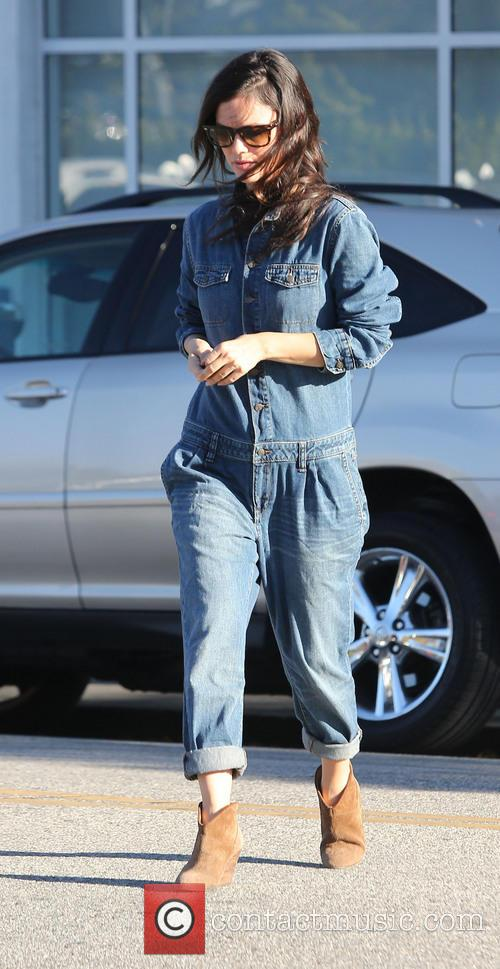 Rachel Bilson Shopping In Beverly Hills