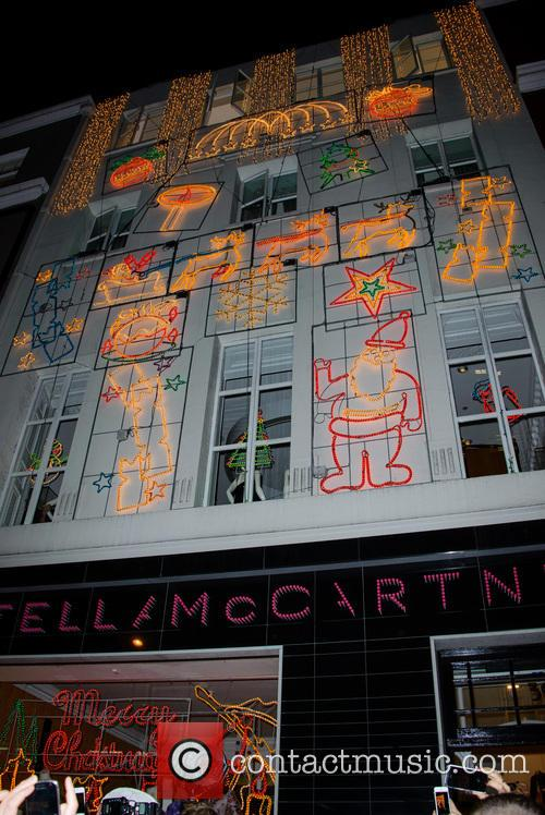 Stella McCartney's annual Christmas Lights 2013