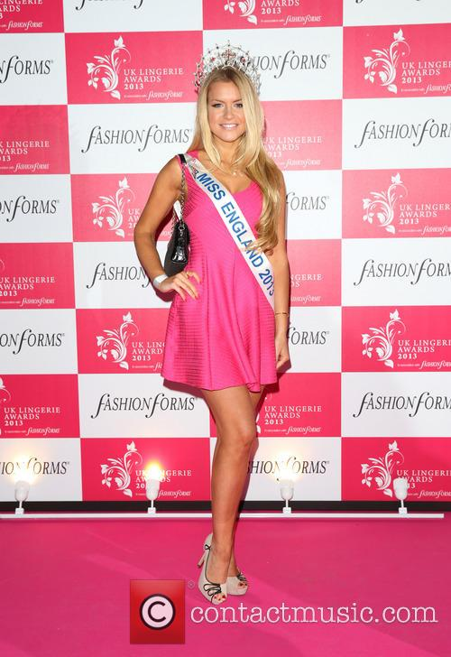 Kirsty Heslewood and Miss England 2013 1