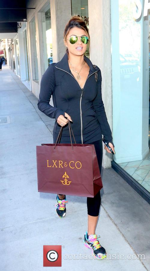 GG Golnesa shopping at LXR & Co.