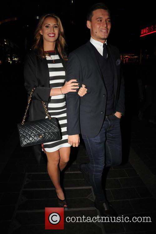 Ferne Mccann and Charlie Sims 1