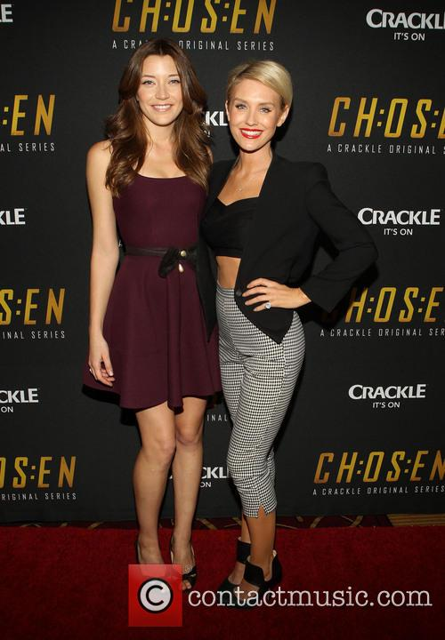 Sarah Roemer and Nicky Whelan 8