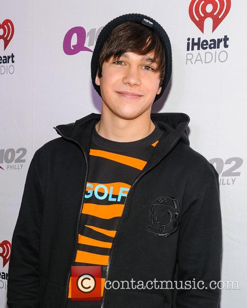austin mahone q102s jingle ball 2013 3982284