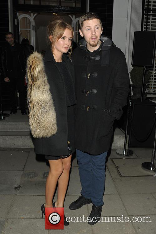 Millie Mackintosh and Professor Green 2