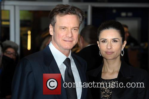 Livia Guggioli and Colin Firth 1