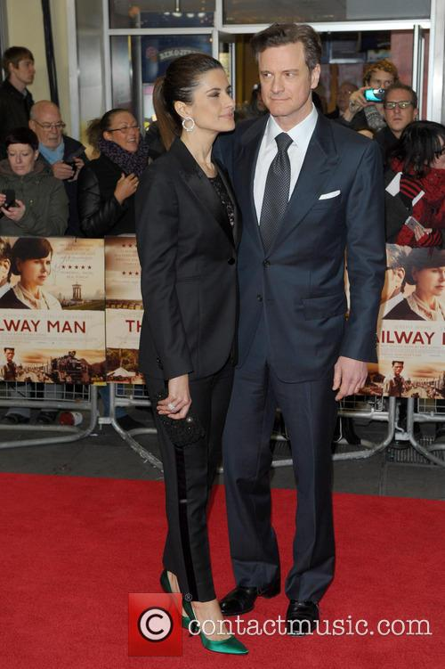 Livia Guggioli and Colin Firth 2