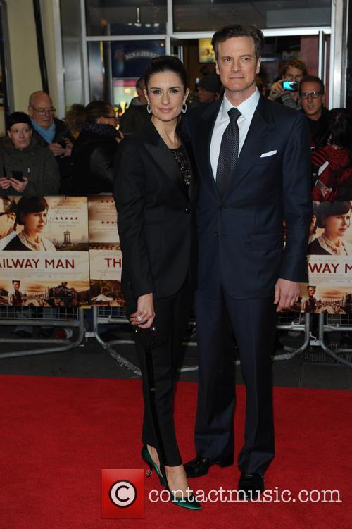 Livia Guggioli and Colin Firth 6