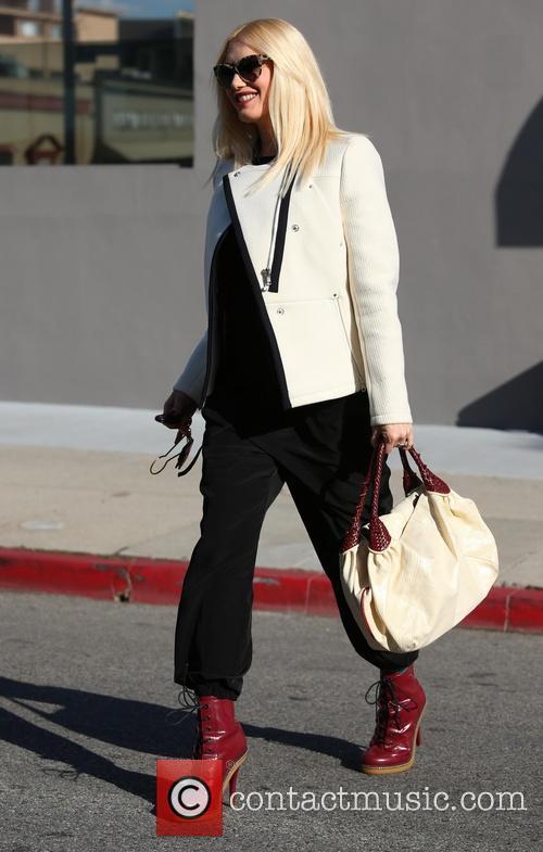 Gwen Stefani is stylish in her pregnancy