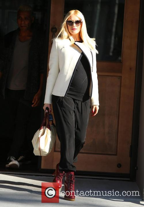 Gwen Stefani is stylish in her pregnancy