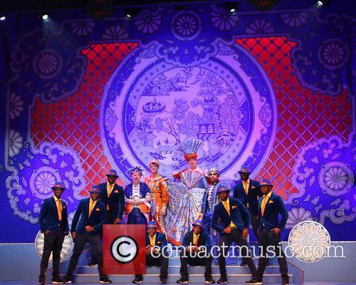 Aladdin photocall Wimbledon