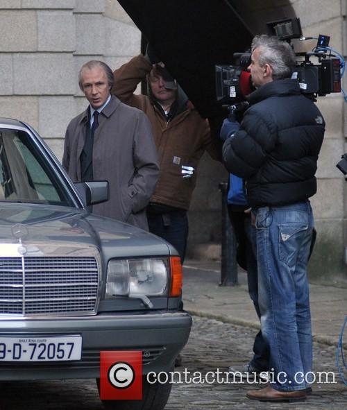 Filming of the RTE drama 'Citizen Charlie'