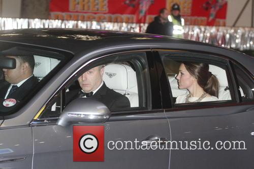 William, Catherine, Duke, Duchess Of Cambridge and Prince William 1