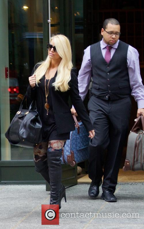 Jessica Simpson seen in Soho New York City